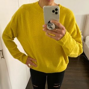 Vince Sweaters - Vince Yellow Wool Sweater Sz M